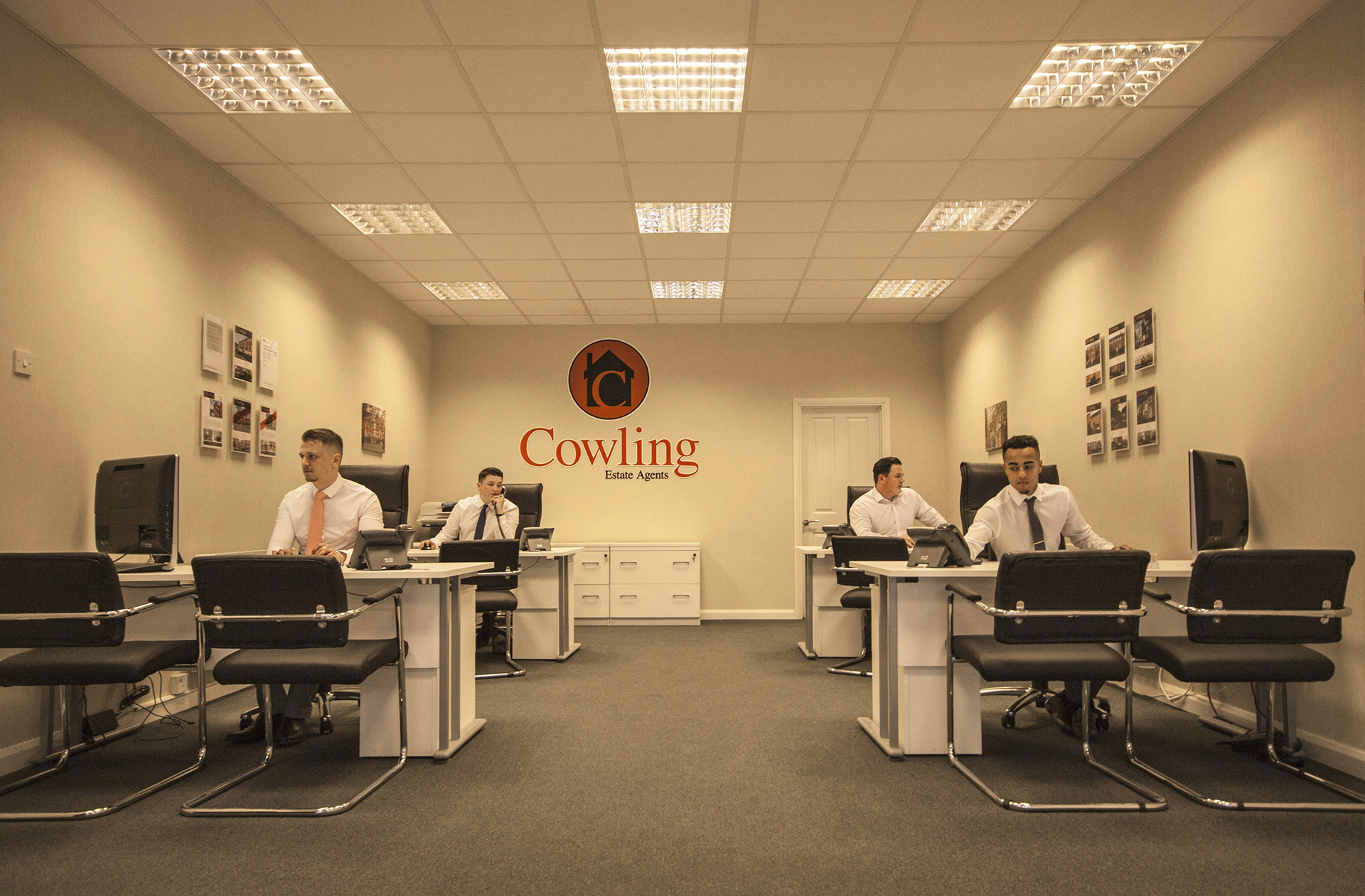 Cowling Estate Agents Office